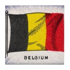 Flag of Belguim Tile Coaster