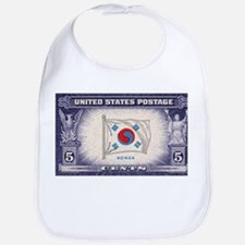 Flag of Korea Bib