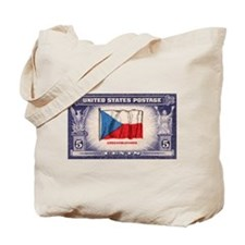 Flag of Czechoslovakia Tote Bag