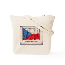 Flag of Czechoslovakia Tote Bag
