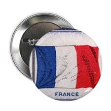 Flag of France Button
