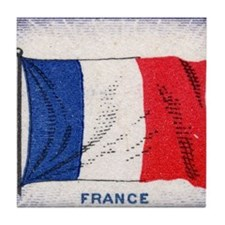 Flag of France Tile Coaster