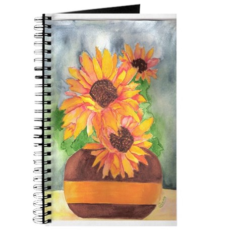 SUNFLOWER SPLASH/GIRASOL CHAPOTEO Journal