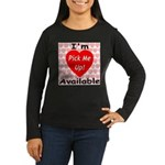 Everlasting Love Heart Women's Long Sleeve Dark T-