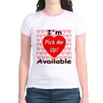 Everlasting Love Heart Jr. Ringer T-Shirt