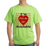 Everlasting Love Heart Green T-Shirt