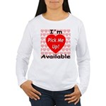 Everlasting Love Heart Women's Long Sleeve T-Shirt