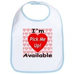 Everlasting Love Heart Bib