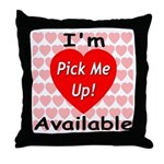 Everlasting Love Heart Throw Pillow