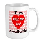 Everlasting Love Heart Large Mug
