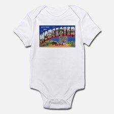 Worcester Massachusetts Greetings Onesie