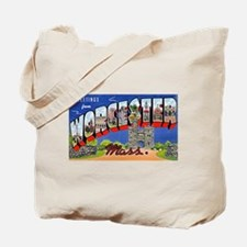 Worcester Massachusetts Greetings Tote Bag