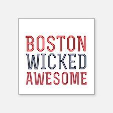 Boston Wicked Awesome Sticker