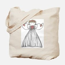 Cute Angels Tote Bag