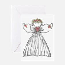 Cute Angel Greeting Card