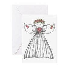 Unique Angel Greeting Cards (Pk of 10)