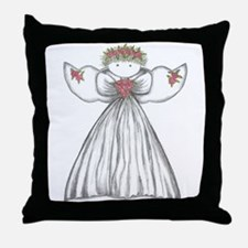 Unique Angels Throw Pillow