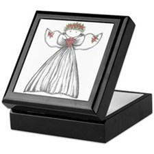Cute Angels Keepsake Box