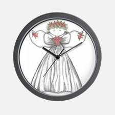 Cute Angel Wall Clock