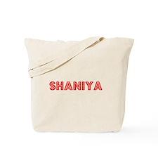 Retro Shaniya (Red) Tote Bag