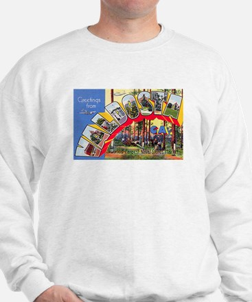 Valdosta Georgia Greetings Sweatshirt