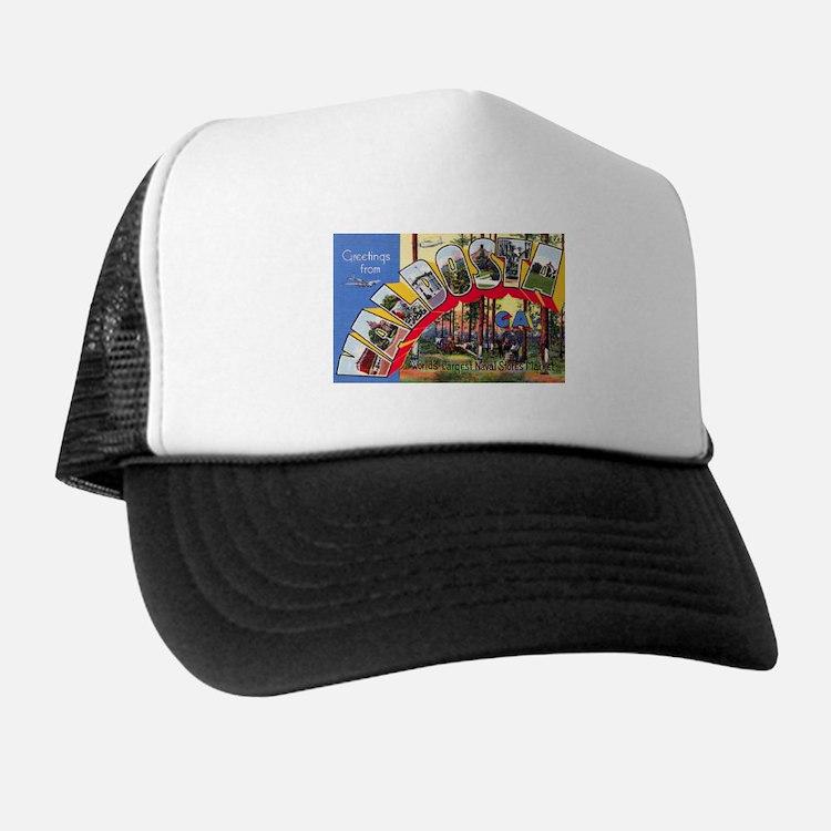 Valdosta Georgia Greetings Trucker Hat
