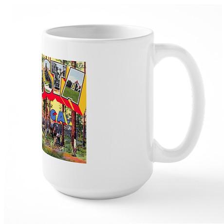Valdosta Georgia Greetings Large Mug
