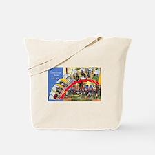 Valdosta Georgia Greetings Tote Bag