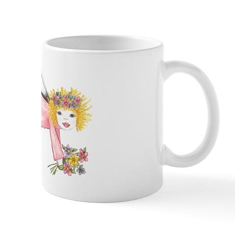 Pink Angel Mug
