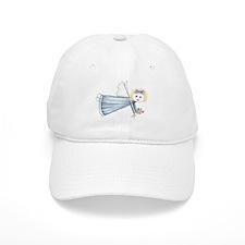 Blue Angelica Angel Baseball Cap