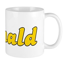 Retro Donald (Gold) Mug