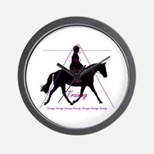 Dressage on the Level Wall Clock