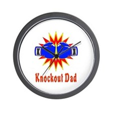 Knockout Dad Wall Clock