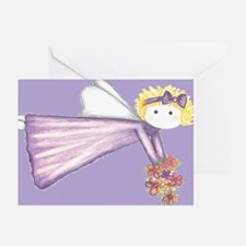 10 Angel Greeting Cards (blank inside)