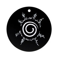 Ninja Seal Ornament (Round)