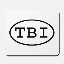 TBI Oval Mousepad