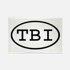 TBI Oval Rectangle Magnet