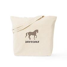Piaffe Dressage (taupe) Tote Bag