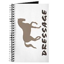 Piaffe Dressage (taupe) Journal