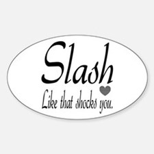 Slash Bumper Stickers Car Stickers Decals Amp More
