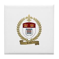 BABIN Family Crest Tile Coaster