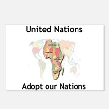 Adopt a Nation Postcards (Package of 8)