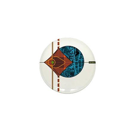 Interplanetary Interplay Mini Button