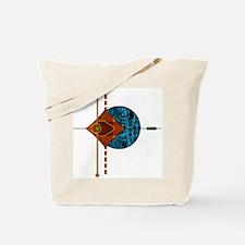 Interplanetary Interplay Tote Bag