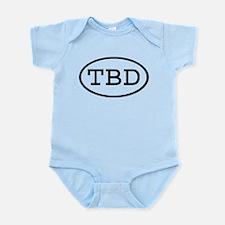 TBD Oval Infant Bodysuit