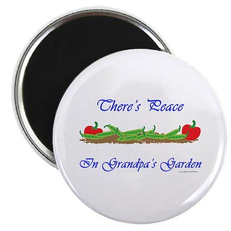 Grandpa's Garden Magnet