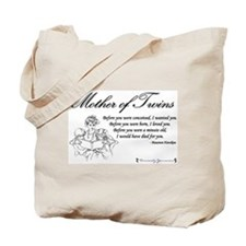 Mom of Twins - Before Tote Bag