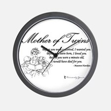 Mom of Twins - Before Wall Clock