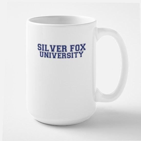 Silver Fox Large Mug
