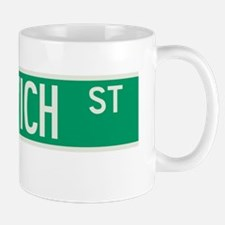 Greenwich Street in NY Mug